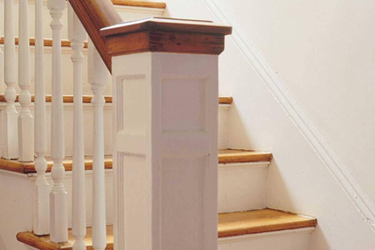 How To Replace A Baluster This Old House | Installing Newel Post And Spindles | Stair Treads | Stair Railings | Stair Banister | Box Newel | Staircase