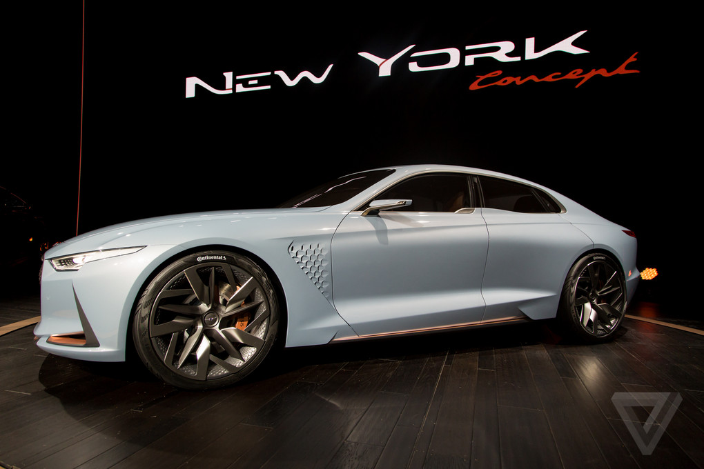 Genesis New York Concept Is A Sports Sedan Thatll Make