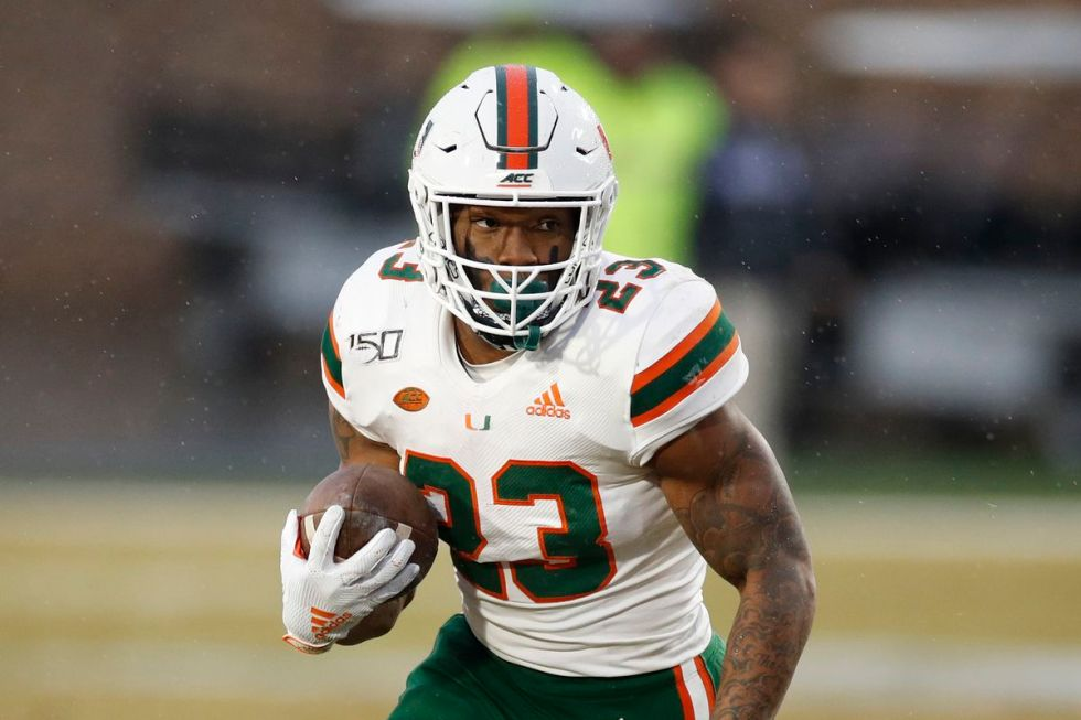 Miami Hurricanes 2020 player profile: running back Cam'Ron Harris - State  of The U