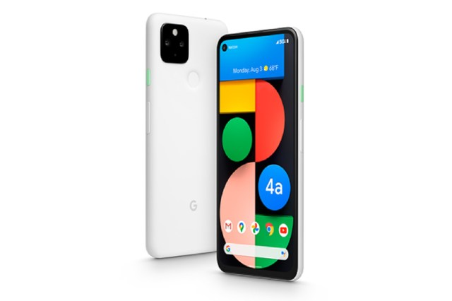 """Pixel 4A 5G UW (Verizon exclusive model in """"Clearly White"""")"""