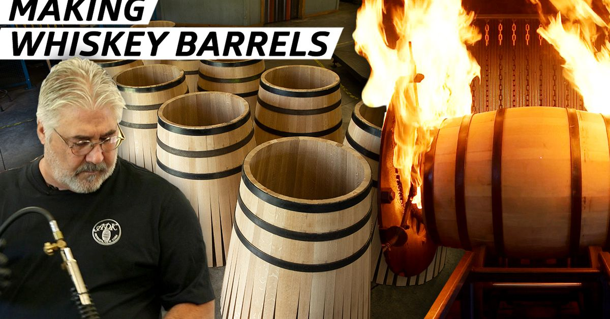 How are whiskey barrels made? [Video]