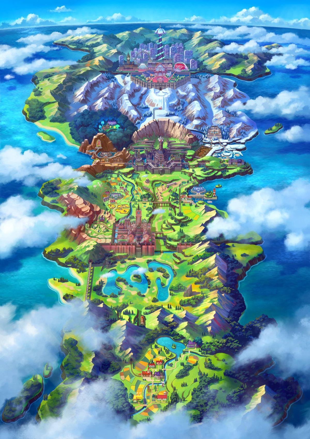 Is Pokmon Sword And Shields Galar Region Based On The UK