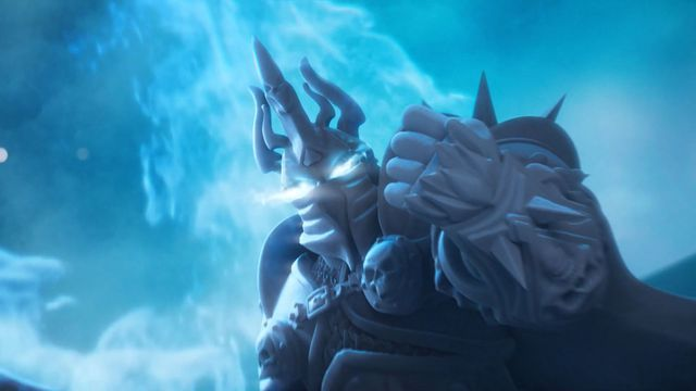 liche_king.0 World of Warcraft: Wrath of the Lich King board game shows off its bits in a new trailer | Polygon