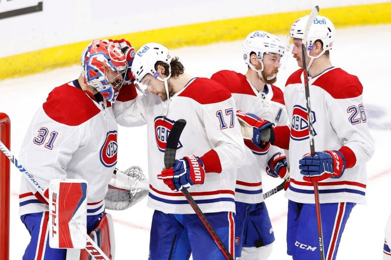 Ten Thoughts: Montreal Canadiens vs. Winnipeg Jets, Game 1 - Arctic Ice  Hockey