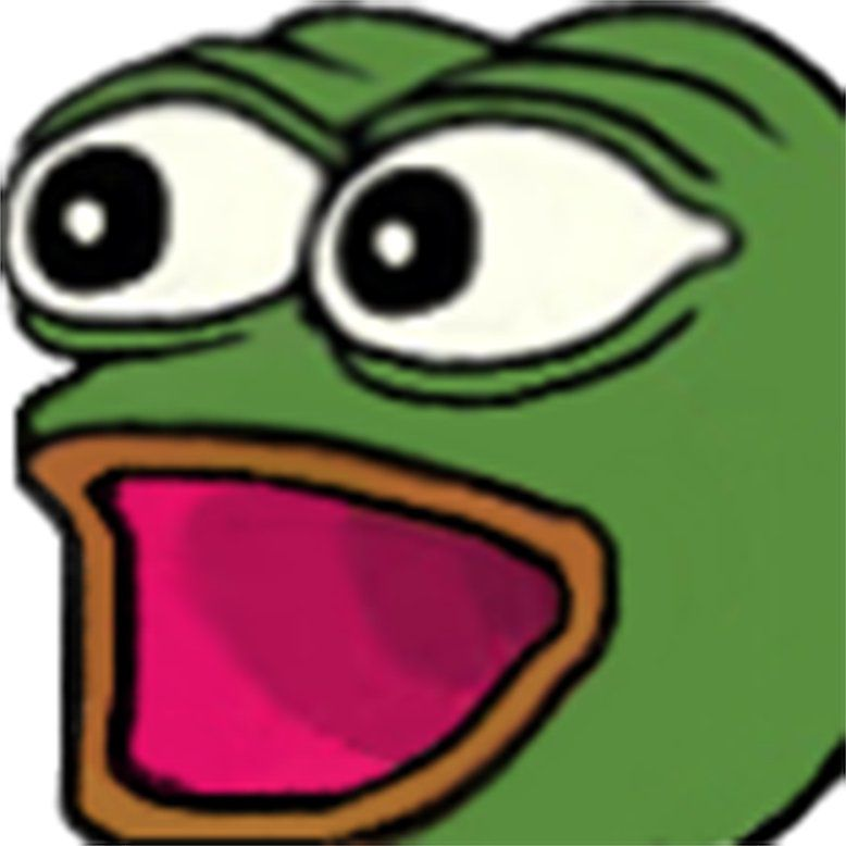 Omegalul Transparent Twitch Emotes