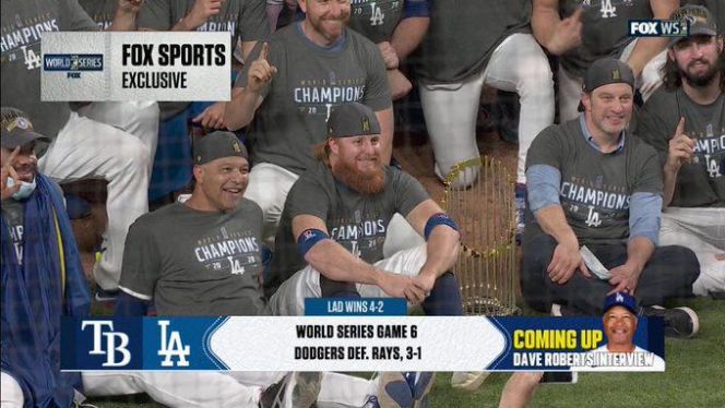 Justin Turner's Covid-positive World Series celebration is MLB's failure - SBNation.com