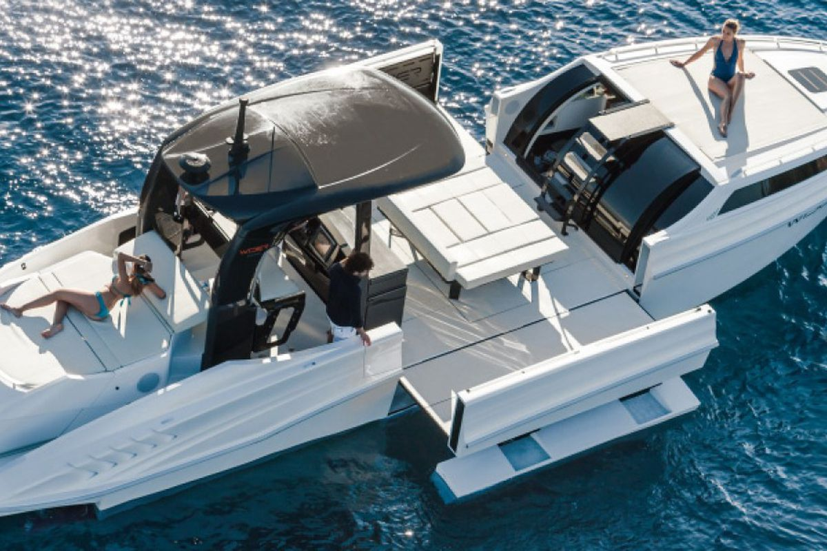 Miami Yacht Watch Gil Dezers New Boat Is A Transformer
