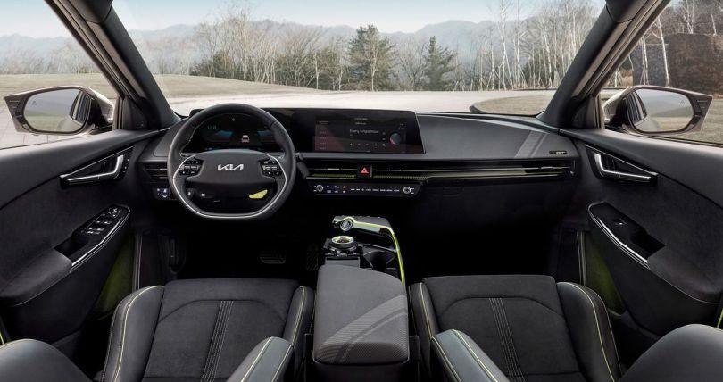 Kia EV6 GT Interior 2