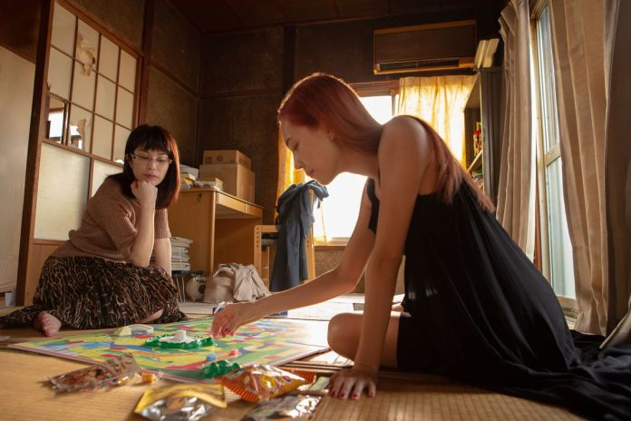 Kiko Mizuhara and Honami Satô play a colorful board game together in Ride or Die