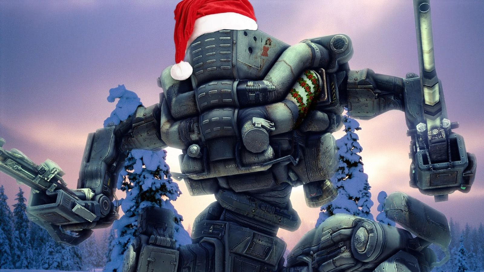 A Merry Mech Christmas From Meteor Entertainment And
