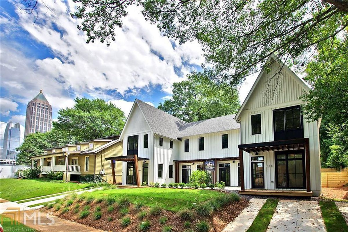 Atlanta's 'modern Farmhouse,' Townhome Edition, Pops Up In