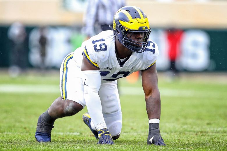 Michigan's Kwity Paye has a chance to be a true playmaker on the defensive  line - Maize n Brew