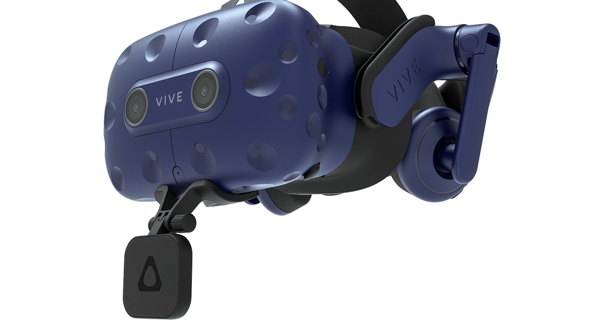 HTC announces Vive Pro lip tracking module and new VR body trackers