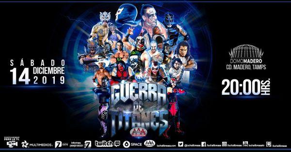 AAA Guerra de Titanes live results: Women
