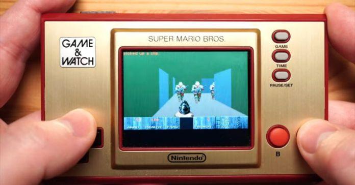 Nintendo's Game & Watch can run Doom, barely
