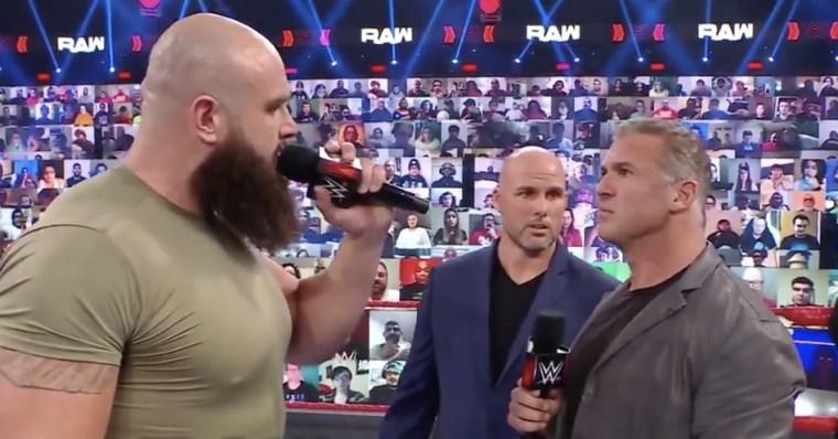 The build to Braun Strowman vs. Shane McMahon continues