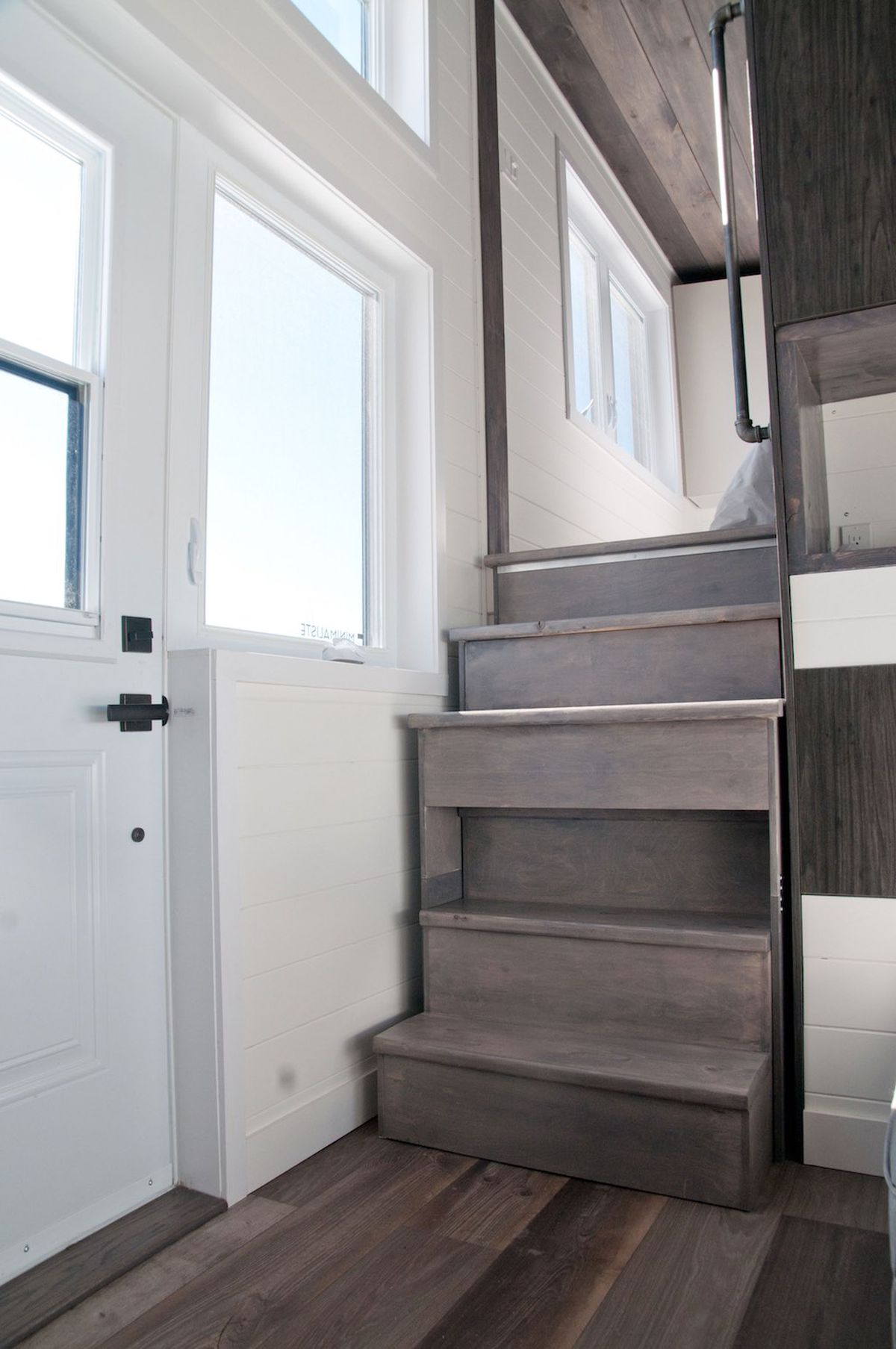 Tiny House With Private Bedroom Offers Minimalist Chic