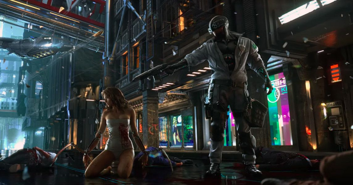 CD Projekts Cyberpunk 2077 Shows Proof Of Life Polygon