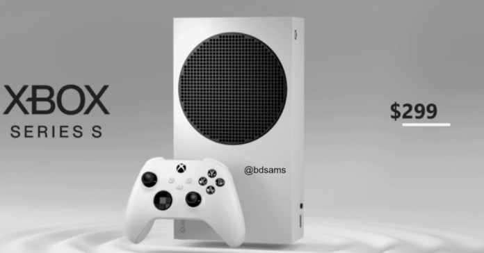 Xbox Series S leaks with 9 price