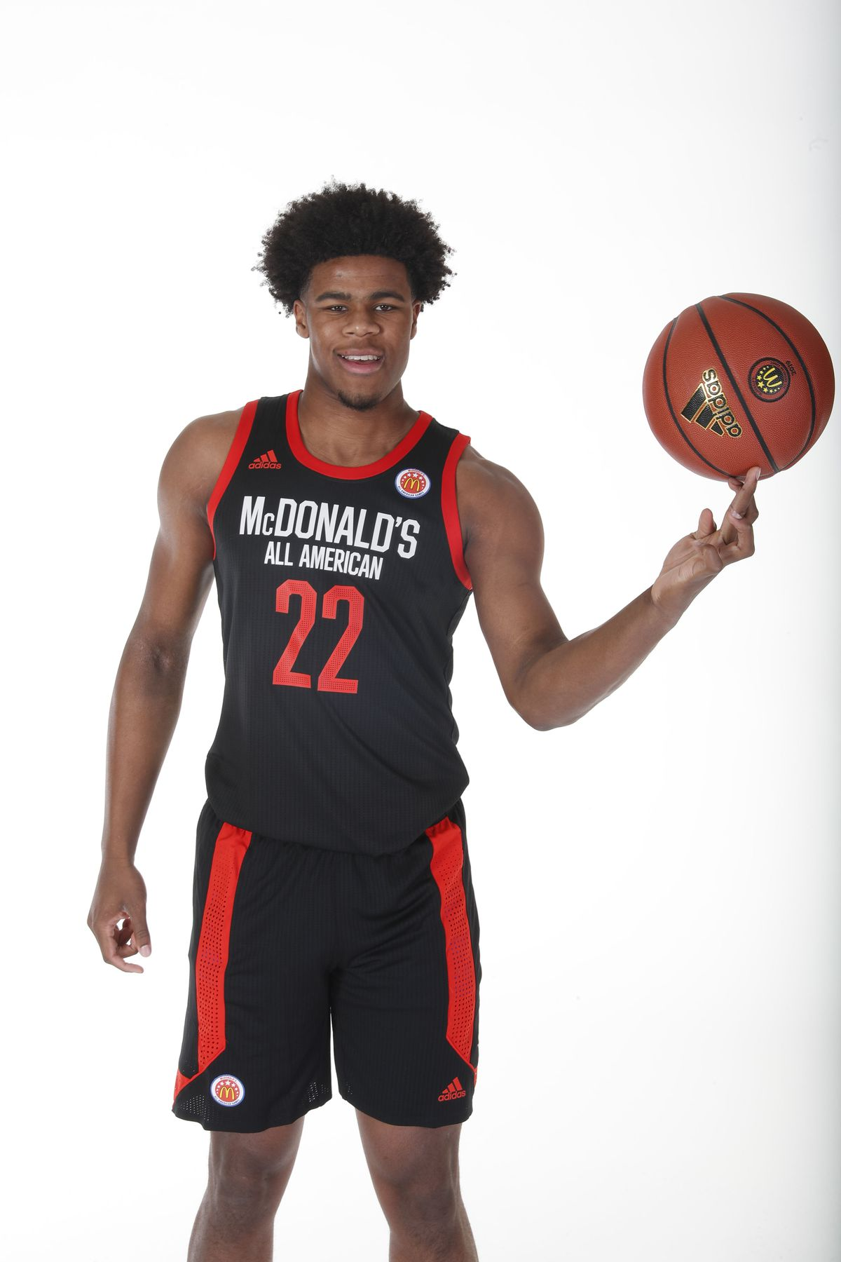 High School Basketball: Journée du portrait américain à la McDonald's High School