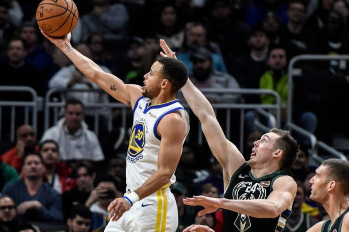 NBA Highlights: Warriors stop the Bucks behind Curry and Iguodala - Golden  State Of Mind