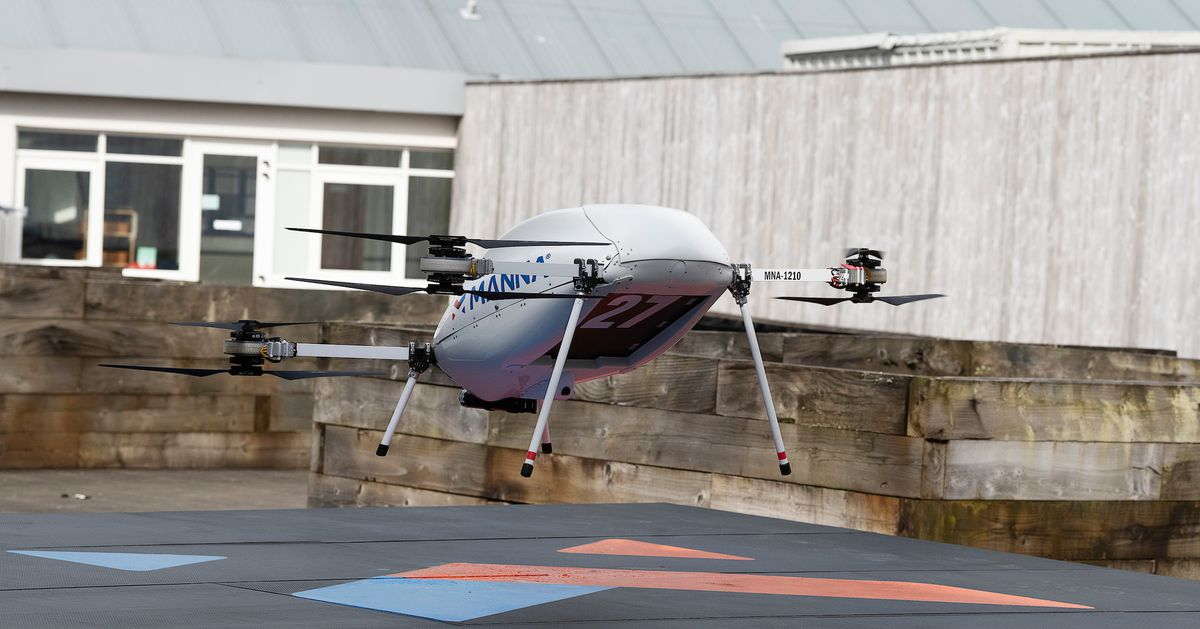 Samsung's new partnership offers another glimpse of a drone delivery future — in only one Irish town