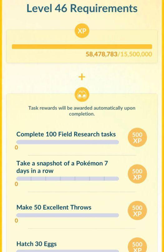 Pokémon Go level cap increase confirmed 2