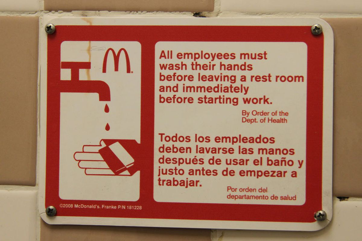 Senator Fights For Restaurant Employees Rights To Not Wash Their Hands