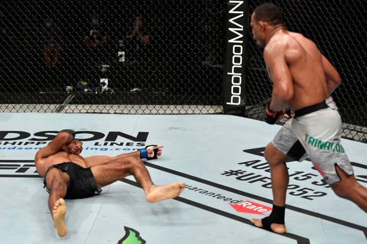 Francisco Trinaldo continues to pepper the youth at Welterweight with no regard for his own physical decline. | Trinaldo vs Salikhov