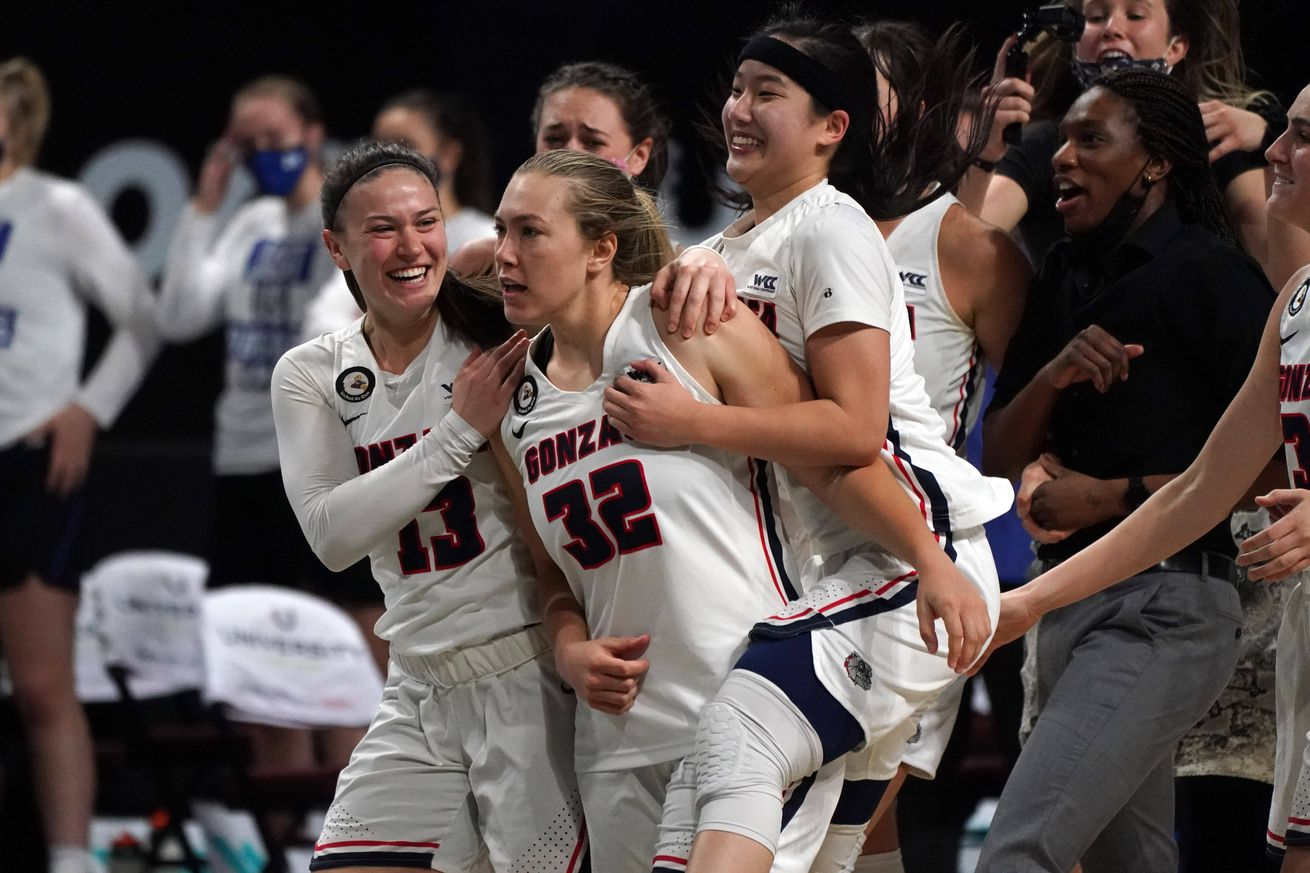 NCAA Women's Basketball-WCC Tournament-BYU vs Gonzaga