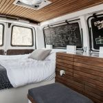 Tour A Chevy Van Turned Into Sleek Tiny Live Work Space Curbed