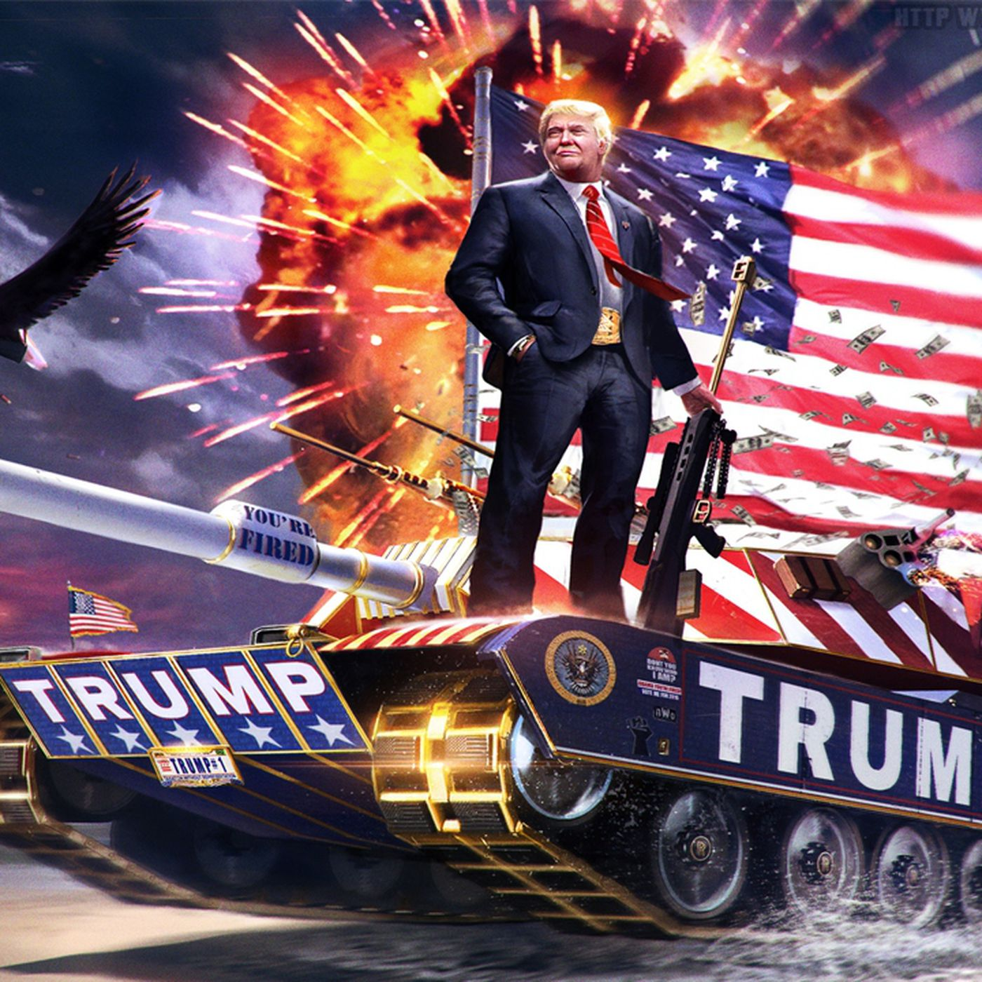 That Trump Tank Meme On Cesar Sayoc S Van Was Made As A Joke