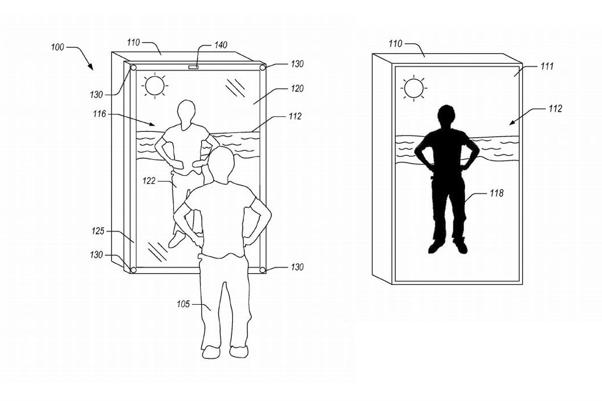 Amazon Patents A Mirror That Dresses You In Virtual