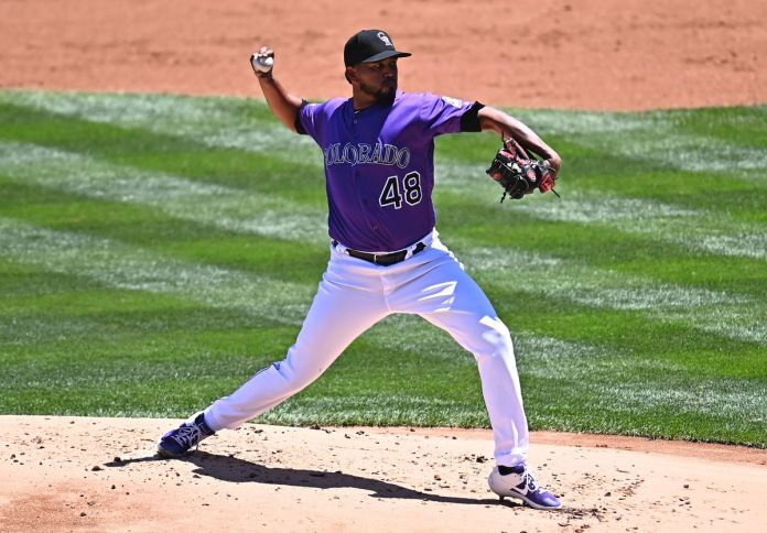 MLB: Game One-San Francisco Giants at Colorado Rockies