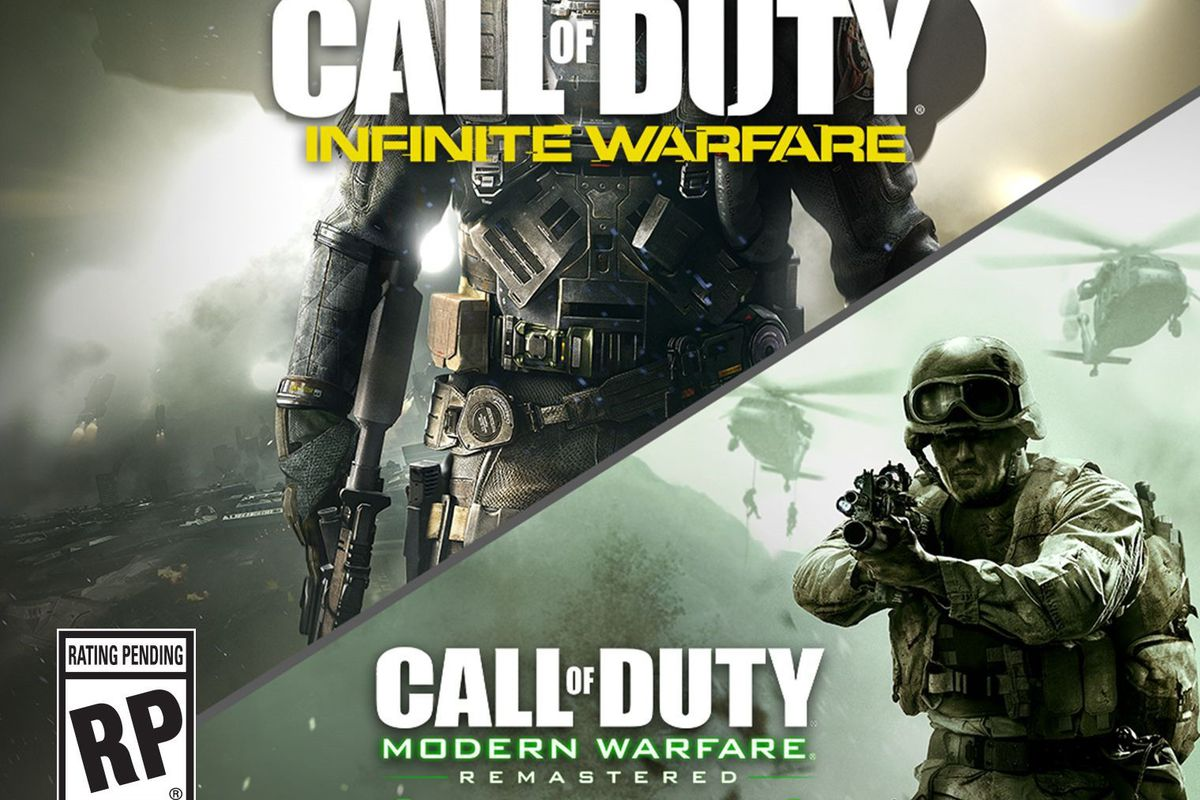 Call Of Duty Infinite Warfare Is A Combined 130 GB