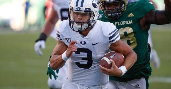 Official: BYU QB Jaren Hall out versus Boise State, Baylor Romney to start; Troy Warner to make season debut