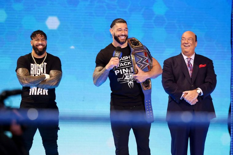 SmackDown highlights: Roman Reigns' challenge, Crews vs. Owens, more!