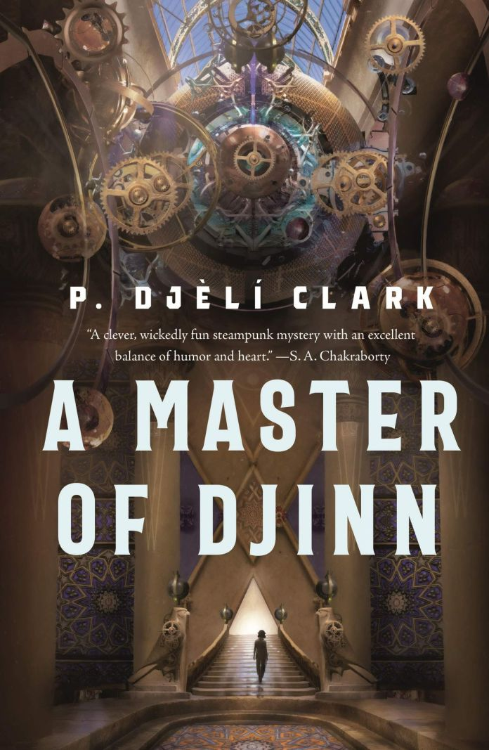 A master of djinn book cover