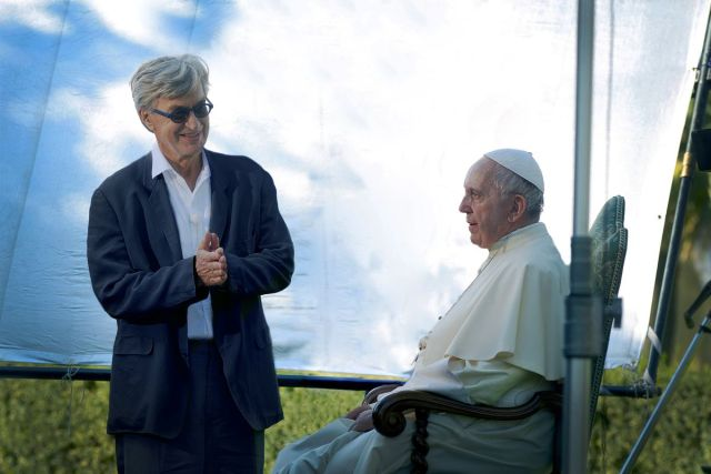 Wim Wenders, director of Pope Francis — A Man of His Word, and Pope Francis