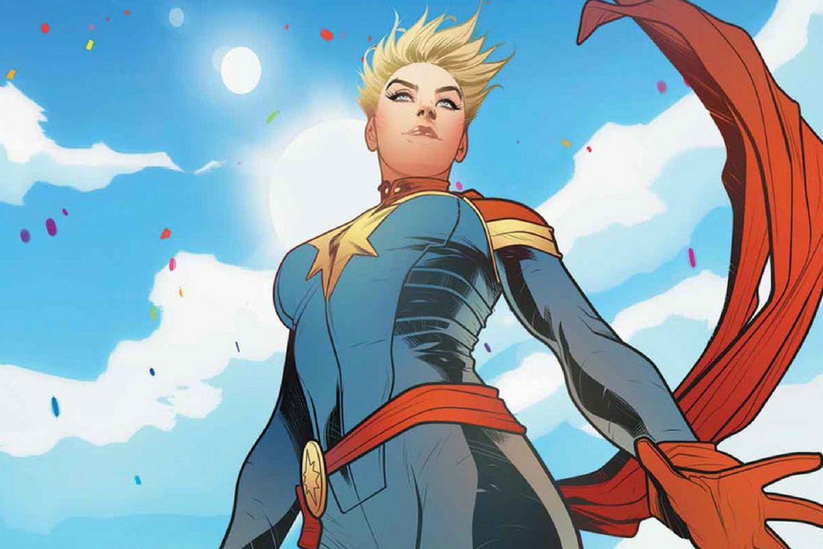 Risultati immagini per captain marvel comics