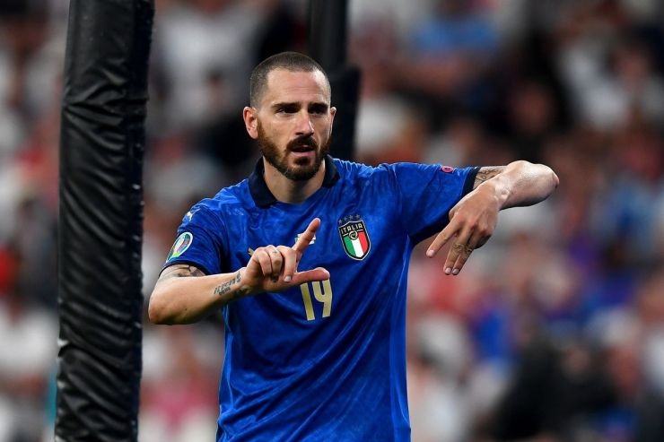 Italy goal: Watch Leonardo Bonucci bring Azzurri level in Euro final  [VIDEO] - DraftKings Nation