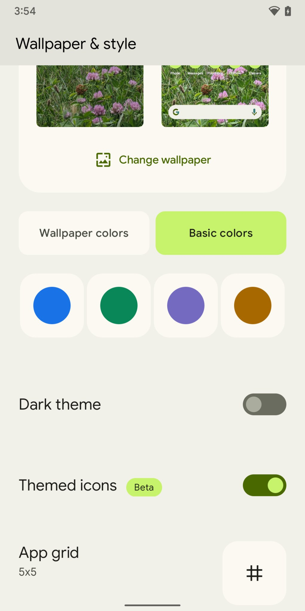 You can tweak your theme colors.