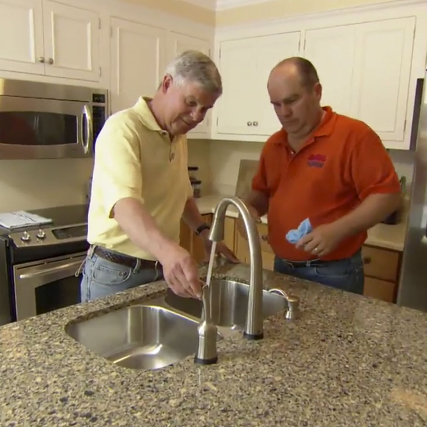plumbing for a kitchen sink