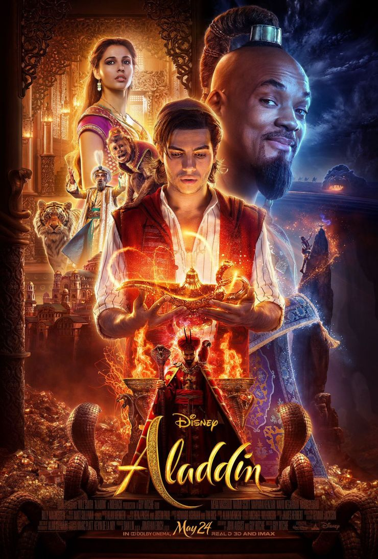 Poster for Disney's live-action remake of Aladdin.