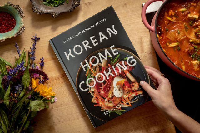 """Korean Home Cooking"" by Sohui Kim"