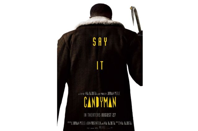 """The latest poster for """"Candyman"""" was revealed Wednesday."""