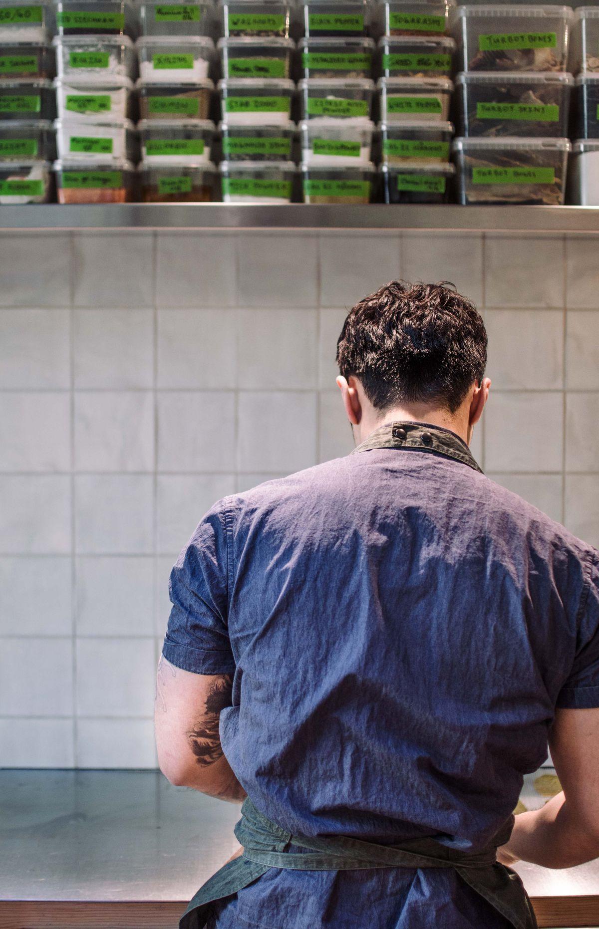 Inside Mos Londons Most Intriguing New Tasting Menu