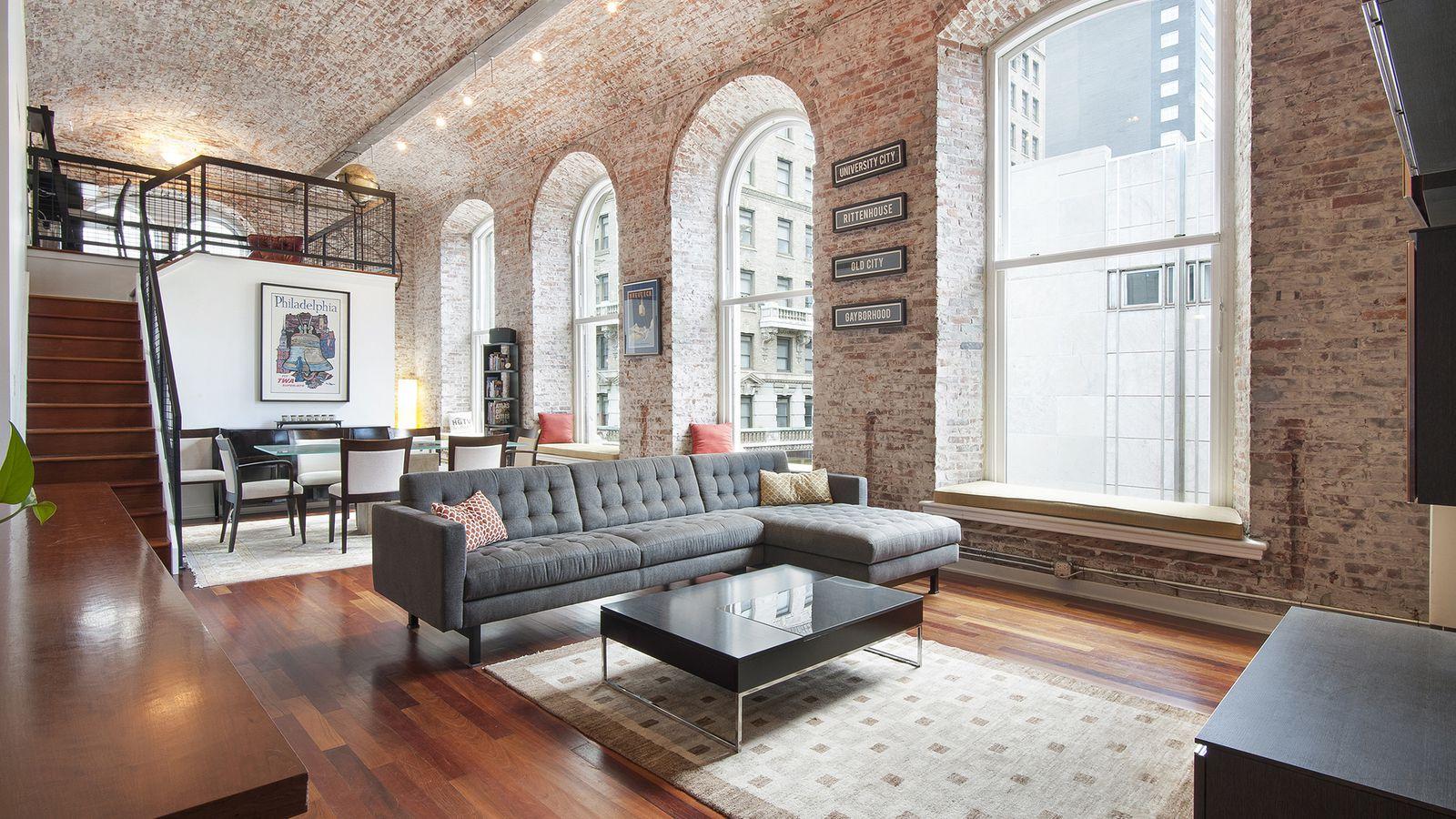 Gorgeous White Building Loft Lists For Just Under 1m