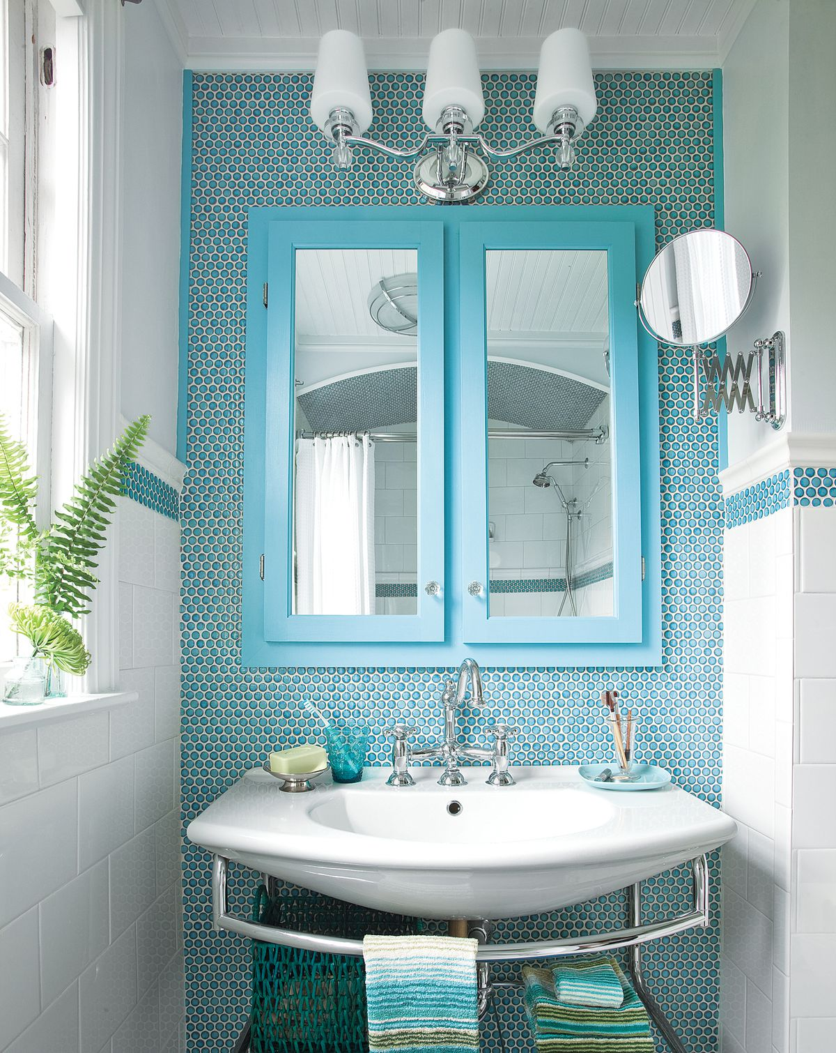 favorite blue bathrooms