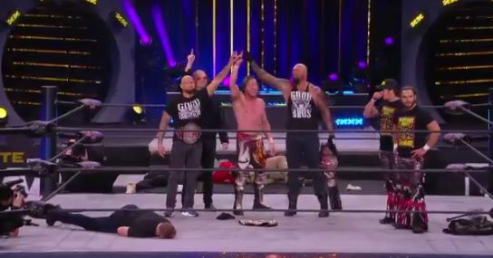 Impact Wrestling's Good Brothers invade AEW and destroy everyone